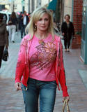 Morgan Fairchild - Candids Out in Hollywood