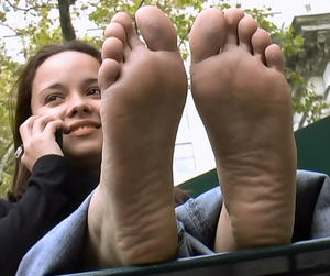 Princess latin soles very arched an stinky 9s