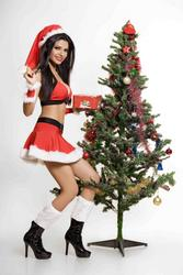 Sherlyn Chopra - Santa's Naughty Helper - x4 UHQ