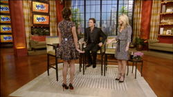 Vanessa Minnillo - Live With Kelly! 1/5/12 - Perfect Legs