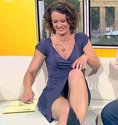 Anja Heyde mix Einblicke Upskirt Downblouse (46) - Celebs