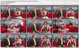 Sian Williams (leg crossing) - BBC Breakfast News 10th November 2009