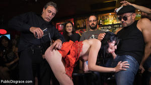 PUBLIC DISGRACE: November 27, 2017 – Steve Holmes, Antonio Ross and Lilyan Red